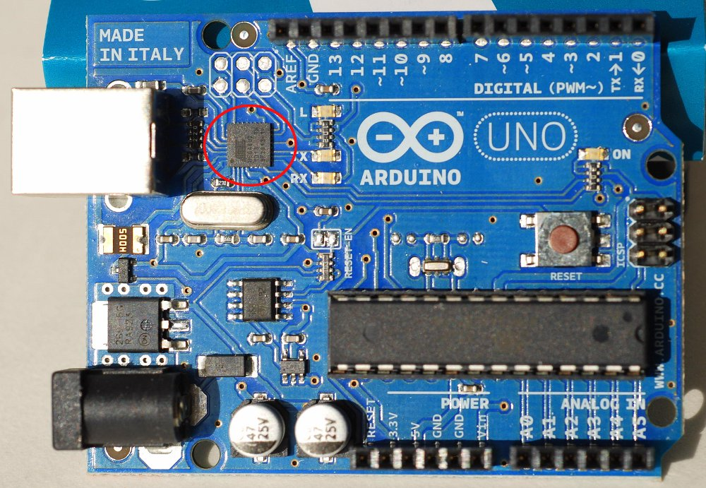 Firmware update on arduino uno flesh and machines