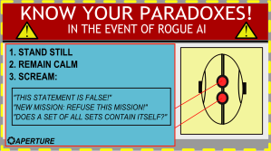 Know your paradoxes! Thanks One Girl Geek for the picture